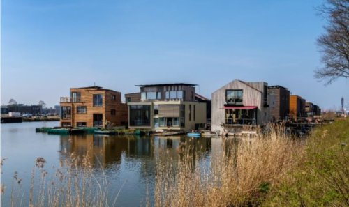 Digital Twin floating home designs could help coastal cities cope with rising sea levels