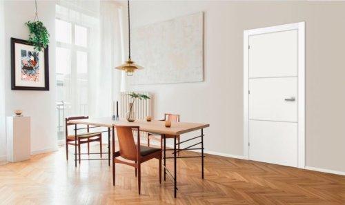 The Timeless Elegance of white doors