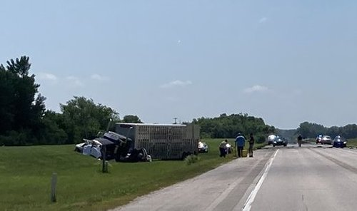 Four killed after head-on vehicle crash with semi-truck in Nebraska