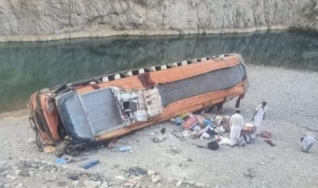 20 killed, 50 injured after bus accident in Balochistan