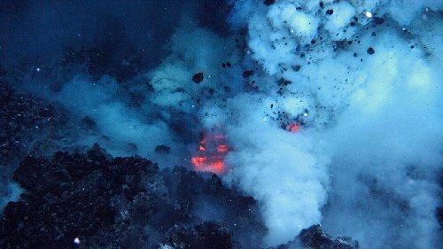 Megaplumes: Unterwasservulkane als Energiemonster
