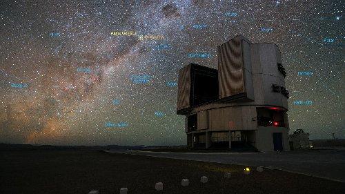 Urknall, Weltall und das Leben: Adaptive Optik am Very Large Telescope (VLT)