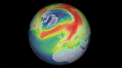 Atmosphäre: Wie es 2020 zum arktischen Rekord-Ozonloch kam