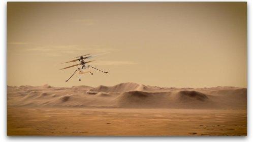 Marshubschrauber Ingenuity: Fliegen statt Fahren auf anderen Planeten