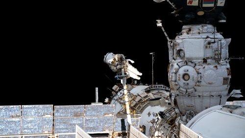 Neues ISS-Modul: ISS verliert durch »Nauka« kurzzeitig die Orientierung
