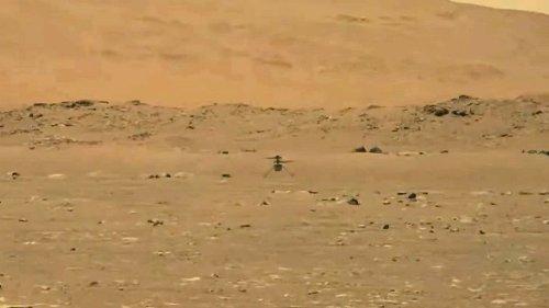 Erster Marsflug: Ingenuitys Hüpfer