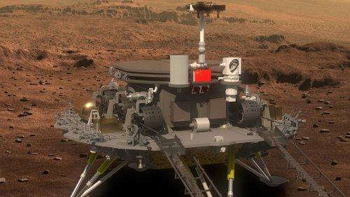 Rover Zhurong: Chinas Mars-Rover liefert erste Bilder