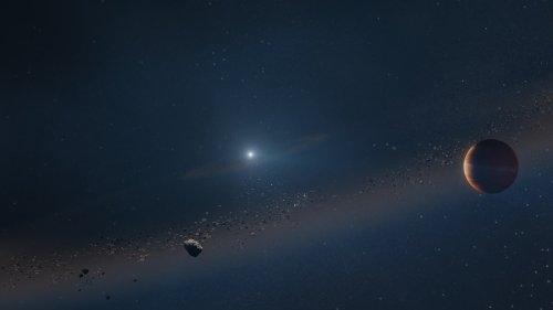 Happy End: Sternleiche hat ihren Planeten nicht geschreddert