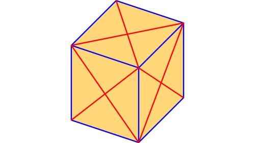 Hemmes mathematische Rätsel: Auf wie viele Weisen kann der Würfel gefärbt werden?