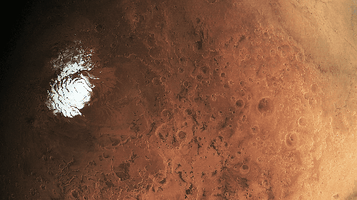 Roter Planet: Mehrere Salzseen unter dem Eispanzer des Mars
