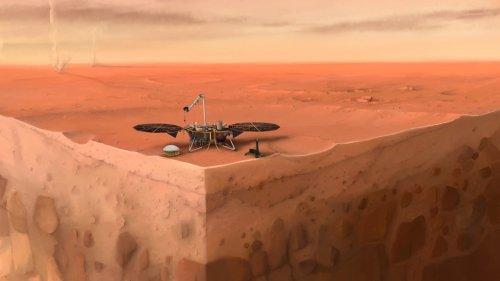InSight: Erster Blick ins Innere des Mars gelungen