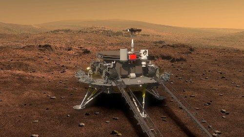 Chinesischer Rover Zhurong: Der Gott des Feuers soll auf dem Mars landen