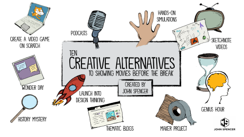 Ten Creative Alternatives to Showing Movies Before the Break