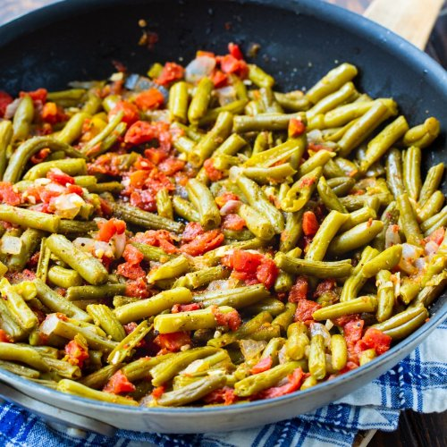 Rotel Green Beans