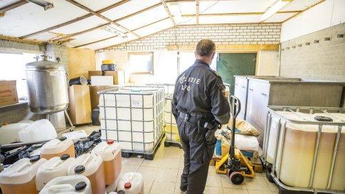 Niederlande: Polizei hebt riesiges Crystal-Meth-Labor aus