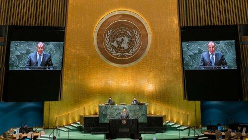 Russischer Außenminister: Lawrow wirft Biden Scheinheiligkeit vor