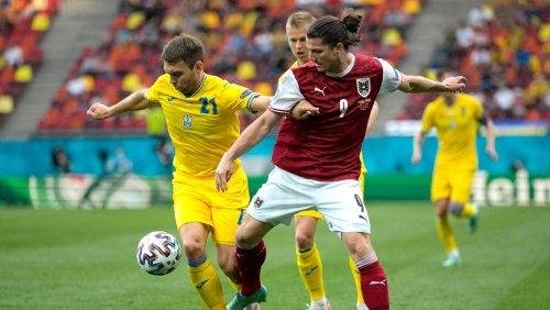 Fußball-EM: Eine Ecke reicht Österreich gegen die Ukraine zum Einzug ins Achtelfinale