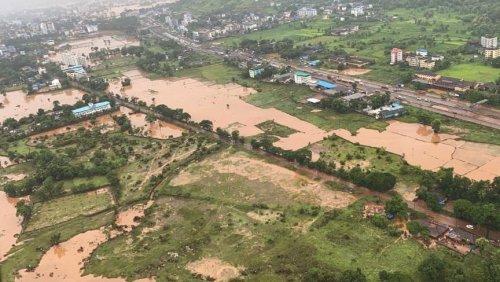 Nach Monsunregen: Erdrutsche und Überschwemmungen in Indien – mindestens 115 Tote