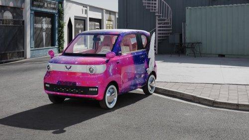 Elektroauto Hongguang Mini EV: Dieser Winzling hängt Tesla in China locker ab