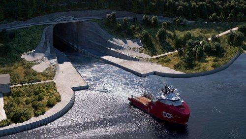 50 Meter hoch, 40 Meter breit: Mit diesem Tunnel will Norwegen die Schifffahrt sicherer machen
