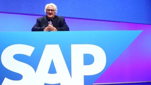Nach Börsencrash: Hasso Plattner kauft SAP-Aktien für eine Viertelmilliarde Euro