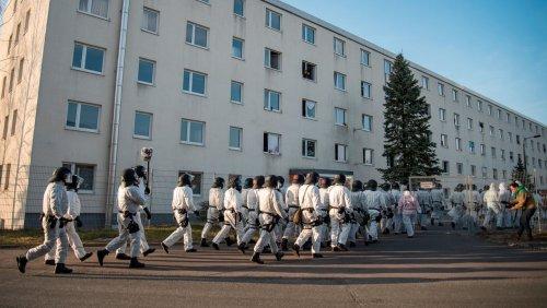 Asylbewerberheim in Thüringen: Mit der Bürgerwehr gegen Flüchtlinge