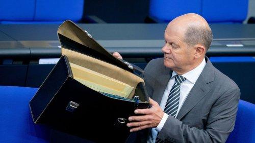 Neue Steuerschätzung: Scholz will Schuldenbremse ab 2023 wieder einhalten