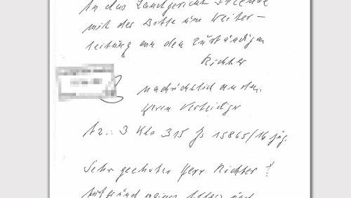 Angeklagt wegen Beihilfe zum Mord: Der Brief der ehemaligen KZ-Sekretärin an den Richter
