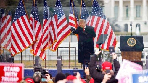 Trump über tödlichen Sturm auf US-Kapitol: »Es war übrigens auch eine liebevolle Menschenmenge«