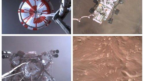 Rover »Perseverance«: Nasa veröffentlicht Video von Marslandung – und Töne vom Roten Planeten