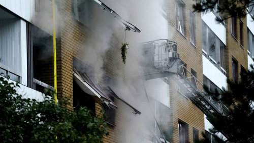 Nach Explosion in Göteborg: Tatverdächtiger tot aufgefunden