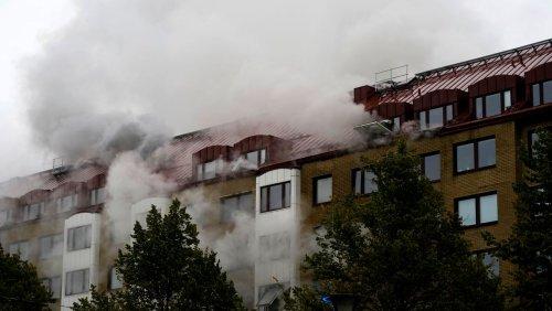 Schweden: Explosion in Göteborger Mehrfamilienhaus – »Straftat nicht ausgeschlossen«