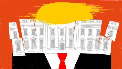 Die Lage: USA 2021: Das Weiße Haus wird desinfiziert