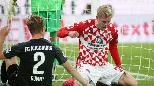 Bundestrainer Flick sieht Mainz-Sieg gegen Augsburg: Burkardts Bewerbungsschreiben für die Nationalelf