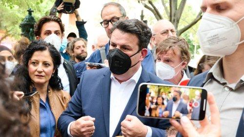 Arbeitsminister Heil beim Lieferdienst Gorillas: Im Dschungel der Widersprüche