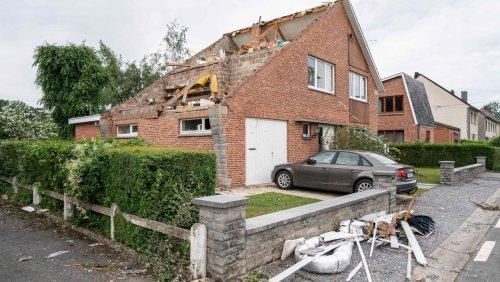 Unwetter in Flandern: Kleiner Tornado fegt durch belgische Provinz