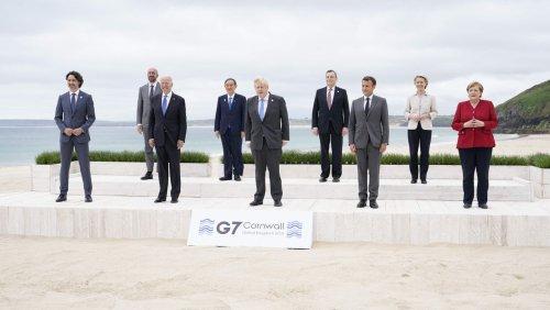 G7-Abschlusserklärung: Merkels vollmundiges Impfversprechen