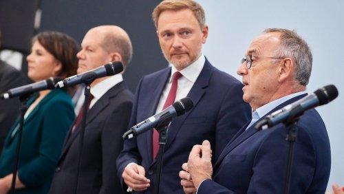 Mögliche Ampelregierung: FDP stimmt Aufnahme von Koalitionsverhandlungen zu