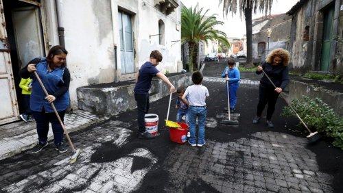 Sizilien: Vulkan Ätna ist erneut ausgebrochen