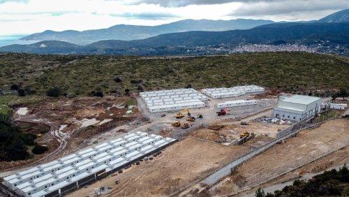 Griechenlands neue Flüchtlingscamps: Fließendes Wasser, immerhin