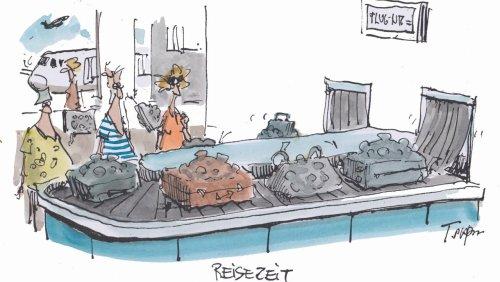 Cartoons der Woche: Infektiöses Gepäck