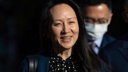 Einigung mit US-Justiz: Huawei-Finanzchefin kommt frei