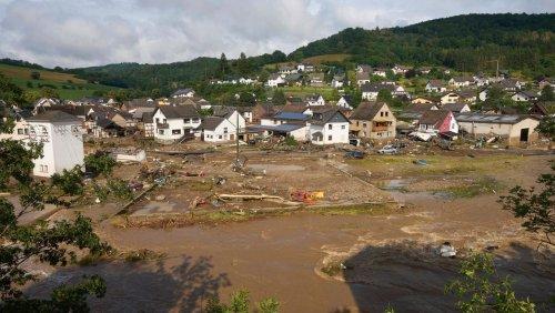 Erneut Unwetter im Flutgebiet: Wetterdienst warnt vor Starkregen im Kreis Ahrweiler