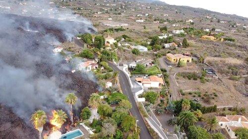 Kanareninsel La Palma: Knapp 6000 Menschen wegen Vulkanausbruch evakuiert