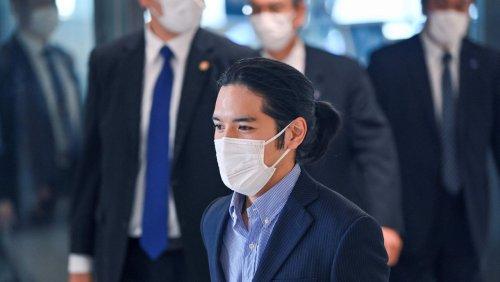 Umstrittene Hochzeit: Verlobter von Prinzessin Mako nach Japan zurückgekehrt