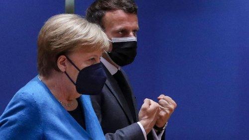 EU-Gipfel in Brüssel: Merkel und Macron scheitern mit ihrem Russlandplan