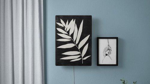 Bilderrahmen-Lautsprecher von Ikea: Ist das Kunst oder wird das laut?