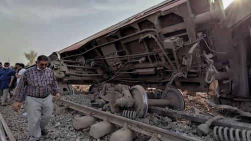 Zugunglück in Ägypten: Acht Waggons entgleist – elf Tote und Dutzende Verletzte