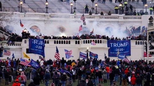 Sturm auf das US-Kapitol: Neuer Bericht belastet Polizei schwer