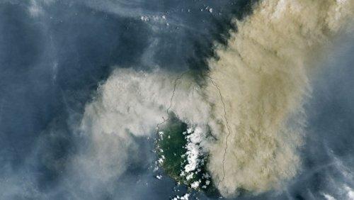 Satellitenbild der Woche: Der unberechenbare Vulkan